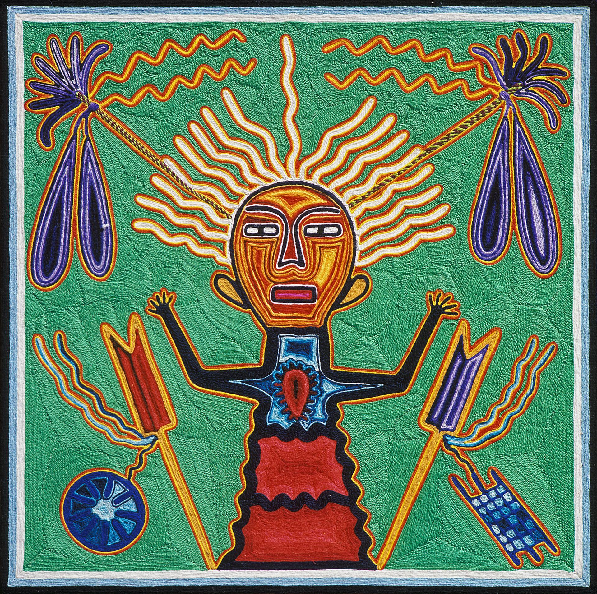 The Idol of Tatewarí - Tutukila Carrillo Sandoval 1974