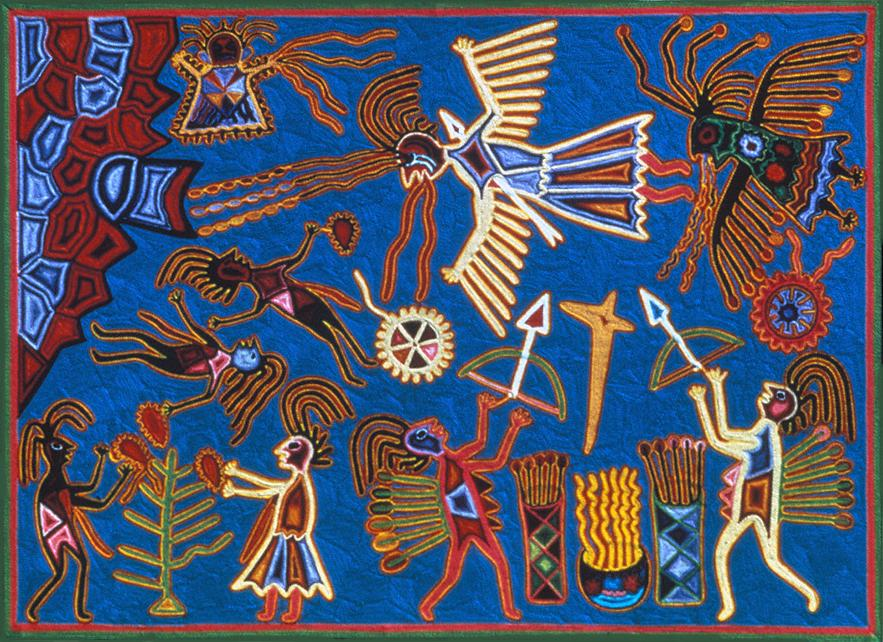 Takutsi is Pursued by the Hewixi - Tutukila Carrillo Sandoval 1973