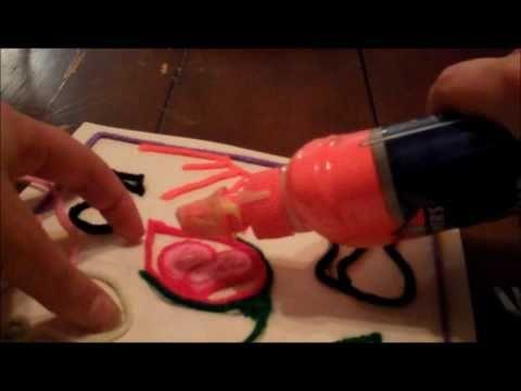 Huichol Yarn Painting Tutorial