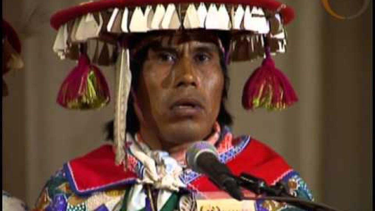 Cry of the Earth ~ The Wixárika Prophecy ~ United Nations ~ Winter 1993