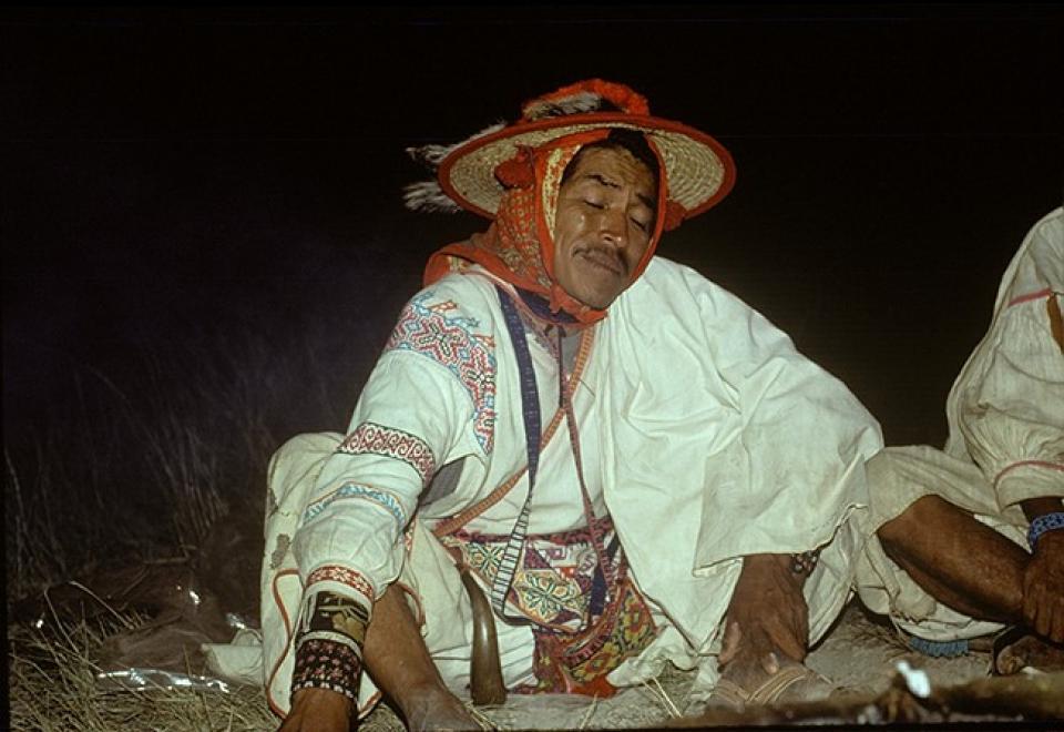 José Benítez Sánchez - Wirikuta 1977  Photograph ©Juan Negrín 1977-2017