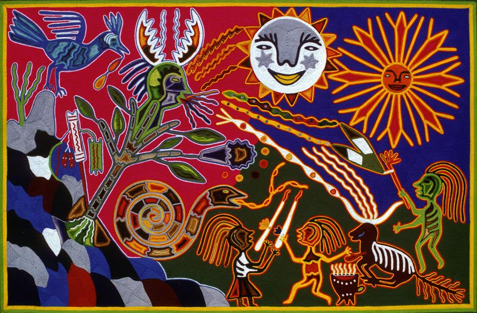 Kieri Awatusa is Feasted and Consecrated - Tutukila Carrillo Sandoval 1975