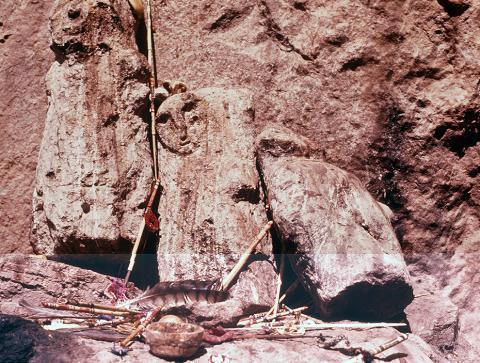 Memute at Teacata - Photograph ©Juan Negrín 1976