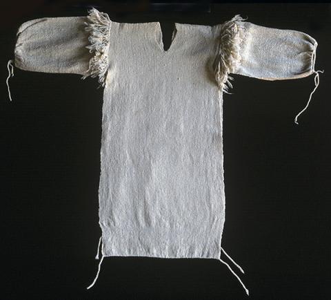 Virgin wool man's shirt. Photograph ©Yvonne Negrín 2010 - 2018