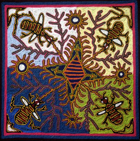 The Bees Find the Way to Their Hive - Yauxali 1981