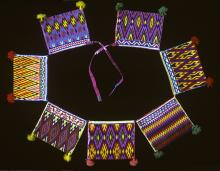 Embroidered belt of pouches or carrillera. Photograph ©Yvonne Negrín 2002 - 2018