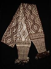 Man's woven belt, huayame - Photograph ©Yvonne Negrín 2018