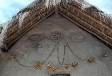 Detail of Kauyumarie's xirikiat the ceremonial center of Keuruwiitüa